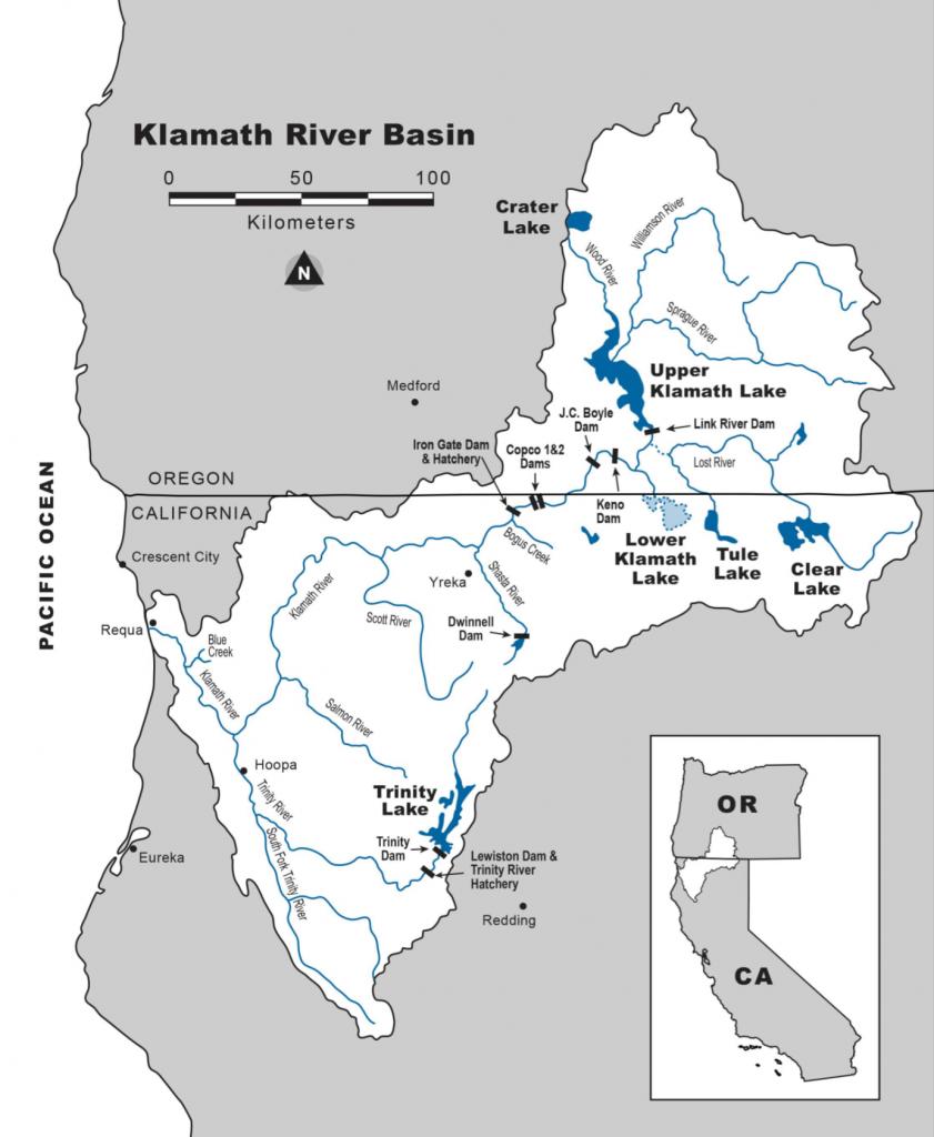Figure 1. Klamath watershed. (Source DOI.)